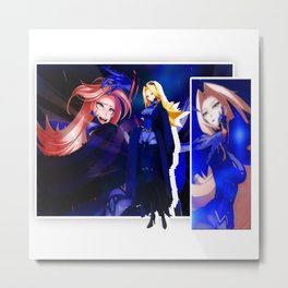 ANIME GIRL Metal Print