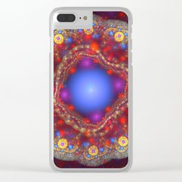 Pass The Peas Clear iPhone Case