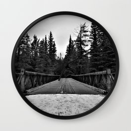 Sixth Bridge Wall Clock