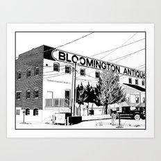 bloomington I Art Print