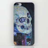 gustav klimt iPhone & iPod Skins featuring Death and Life by Gustav Klimt by cvrcak
