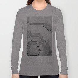 Linear Fracture Long Sleeve T-shirt