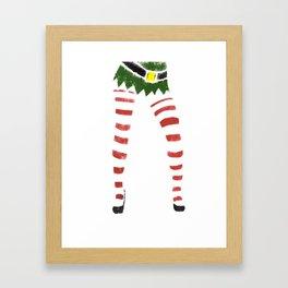 Sexy Elf Print Framed Art Print