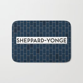 SHEPPARD-YONGE | Subway Station Bath Mat