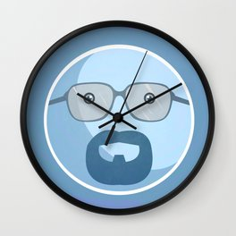 Breaking Bad Blue Sky Version Wall Clock