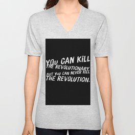 Can Never Kill The Revolution Unisex V-Neck