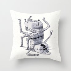 Don't Stop The Party Throw Pillow