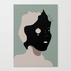 The Black Mask Collection 002 Canvas Print