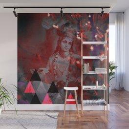 Krishna Reprise - The Hindu God Wall Mural