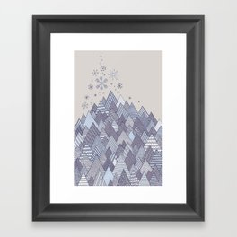 Winter Dreams Framed Art Print