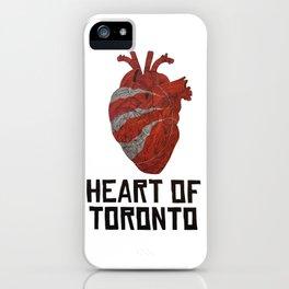 Heart of Toronto iPhone Case