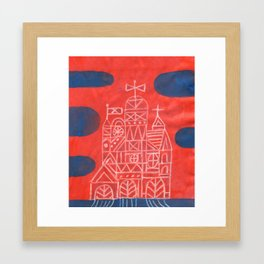 Crystal City 01-11-10b Framed Art Print