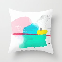 No. 221 Throw Pillow