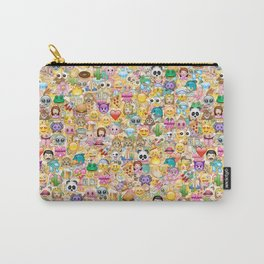 Emoticon pattern Carry-All Pouch