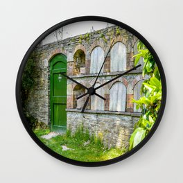 The Lost Gardens of Heligan - Bee Boles and Gate Wall Clock