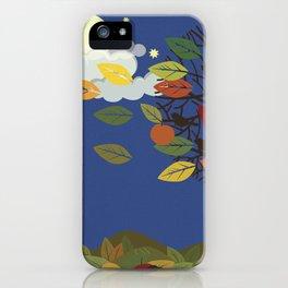 """""""Seasons"""" Summer-Autumn iPhone Case"""