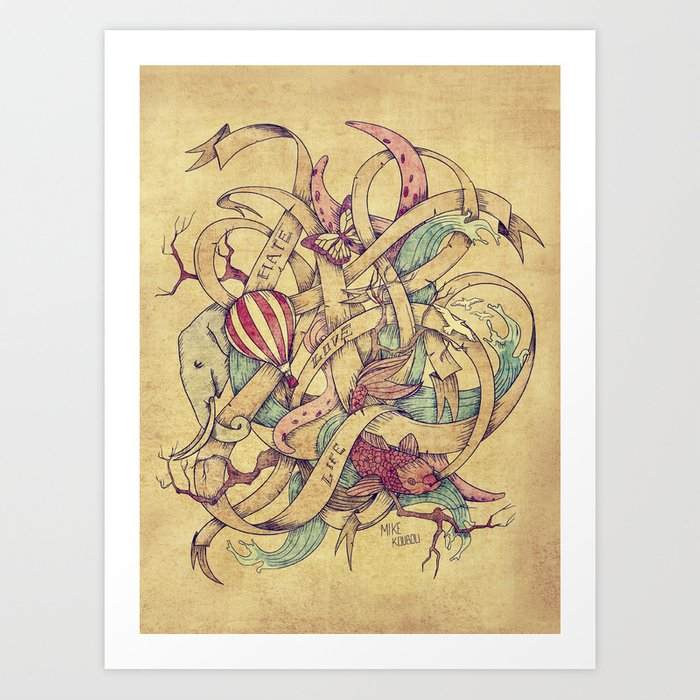 Abstract Nature | VACANCY zine | Art Print