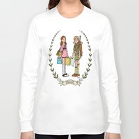moonrise kingdom Long Sleeve T-shirts featuring Moonrise Kingdom  by Dueling Doodlers