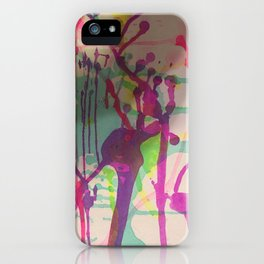 Water Color Frenzy iPhone Case