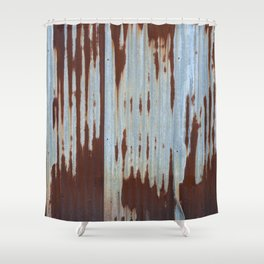 Northport Stripes (23blue) Shower Curtain