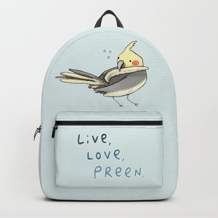 Live, Love, Preen Backpack