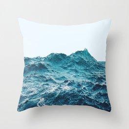Menta Ocean Throw Pillow