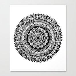 Tribal Inspired Mandala B Canvas Print
