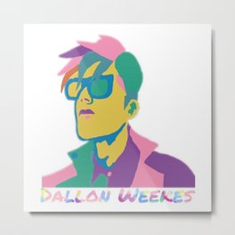 Dallon Weekes Metal Print