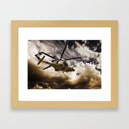 TRUE HEROES I Framed Art Print