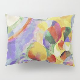 "Robert Delaunay ""Simultaneous contrasts sun and moon"" Pillow Sham"