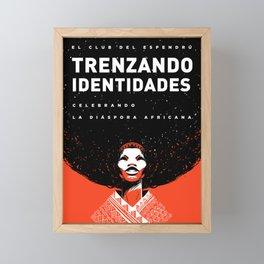 Trenzando Identiddes Framed Mini Art Print