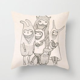 this is family Throw Pillow