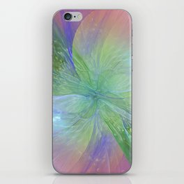 Mystic Warmth Abstract Fractal iPhone Skin