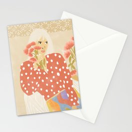 Destiny in her hands Stationery Cards