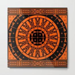 Ancestors (Orange) Metal Print