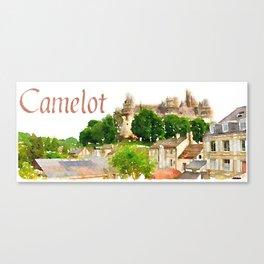 Pierrefonds Castle, France (Camelot) Canvas Print