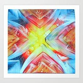tie-dye Art Print