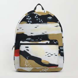 Spotted Abstract in Neutral Backpack