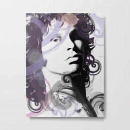 Digital art of J. Morrison Metal Print