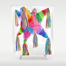 Mexican Pinata Shower Curtain