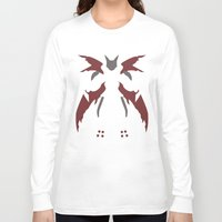 digimon Long Sleeve T-shirts featuring Cyberdramon by JHTY