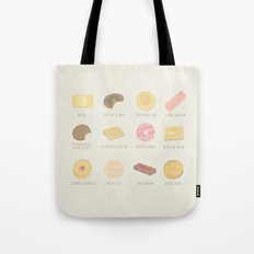 BISCUITS  Tote Bag