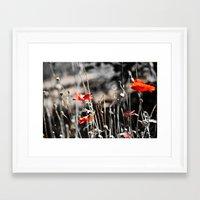 sin city Framed Art Prints featuring Sin City by Irène Sneddon