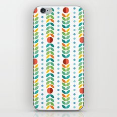Simple flower Pattern iPhone & iPod Skin
