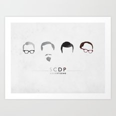MAD MEN / SCDP Art Print