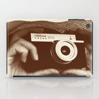 photographer iPad Cases featuring Photographer by XfantasyArt