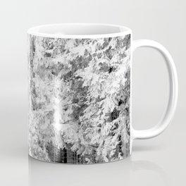 Snow Lift // Ski Chair Lift Colorado Mountains Black and White Snowboarding Vibes Photography Art Print Coffee Mug