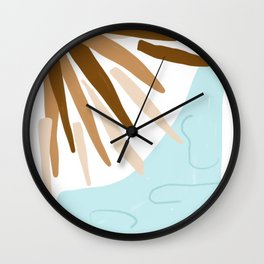 Under the Tiki Hut Wall Clock