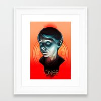 ouat Framed Art Prints featuring Henry - OUAT by Seventy-three