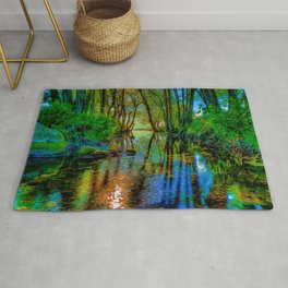 A Flooded Wood Rug